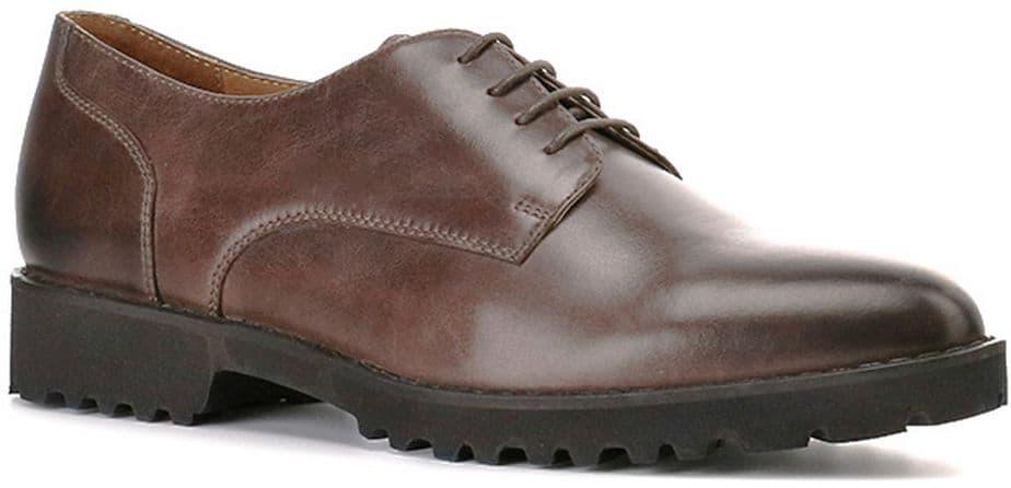 Полуботинки Ralf RingerПолуботинки<br>Коричневый цвет достаточно практичен и при этом никогда не выходит из моды. Данная модель позволит Вам по-новому взглянуть на осеннюю обувь. Такие ботинки отлично сочетаются как с офисным стилем, так и с повседневной одеждой. В них вы будете чувствовать себя уверенно, а качественные материалы и массивная подошва защитят вас от непогоды.<br><br>Наименование: Ralf Ringer Modern 916101ТК Осень-Зима 2016-17<br>Цвет: Темно-коричневый<br>Размер RU: 37<br>vendorCode: None<br>Пол: Женский<br>Возраст: Взрослый<br>Сезон: Деми<br>Материал верха: Натуральная кожа<br>Материал подкладки: Натуральная кожа<br>Материал подошвы: ПУ
