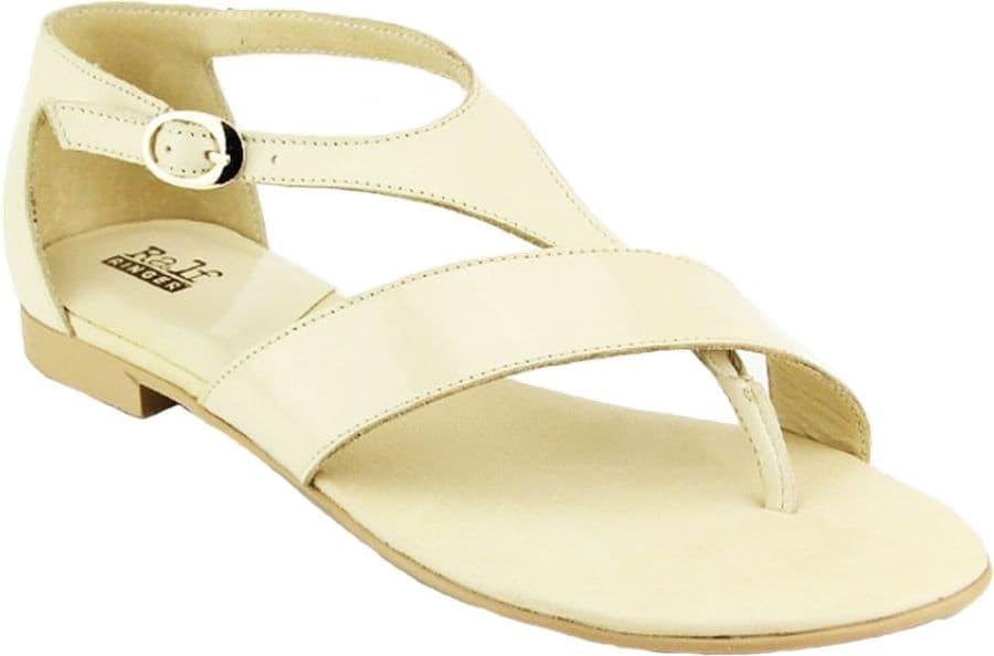 Ralf Ringer Weekend 984003СБ Весна-Лето 2015Сандалии<br>Красивые женские сандалии из натуральной кожи станут незаменимой деталью Вашего летнего гардероба. Эта модель составит отличную пару легким платьям или юбкам, подчеркнет Вашу женственность и красоту. Босоножки с закрытой пяткой имеют небольшой устойчивый каблучок, плотную застежку и стельку из натуральной кожи. Все это придает обуви особый комфорт и делает ее хорошим выбором для повседневного ношения.<br><br>Цвет: Бежевый<br>Размер RU: 38<br>vendorCode: None<br>Пол: Женский<br>Возраст: Взрослый<br>Сезон: Лето<br>Материал верха: Кожа<br>Материал подкладки: Кожа<br>Материал подошвы: ТПУ