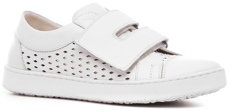 Ralf Ringer Weekend 873112БЛ Весна-Лето 2017Кеды<br>Белые кеды KATY-D (летняя модель) — обувь из будущего. Подобное впечатление создают П-образно сдвоенные широкие липучки, ромбовидная перфорац...<br><br>Цвет: Белый<br>Размер RU: 33<br>Пол: Мужской<br>Возраст: Детский<br>Сезон: Лето<br>Материал верха: Натуральная кожа<br>Материал подкладки: Натуральная кожа<br>Материал подошвы: ТЭП