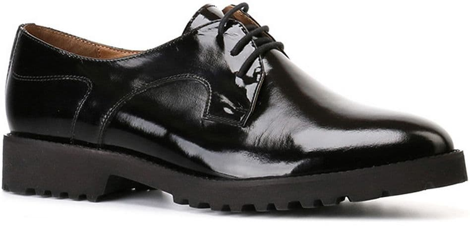 Ralf Ringer Modern 959101ЧЛ Осень-Зима 2016-17Полуботинки<br>Чёрные лаковые полуботинки - must have обувной коллекции каждой модницы. Классическая модель подойдет на все случаи жизни, дополнит как классический, так и более смелый образ. Удобный каблук и массивная подошва, которая так актуальна в этом сезоне, создадут ощущение комфорта даже при длительной ходьбе.<br><br>Цвет: Черный<br>Размер RU: 40<br>vendorCode: None<br>Пол: Женский<br>Возраст: Взрослый<br>Сезон: Деми<br>Материал верха: Лаковая кожа<br>Материал подкладки: Текстиль<br>Материал подошвы: ПУ