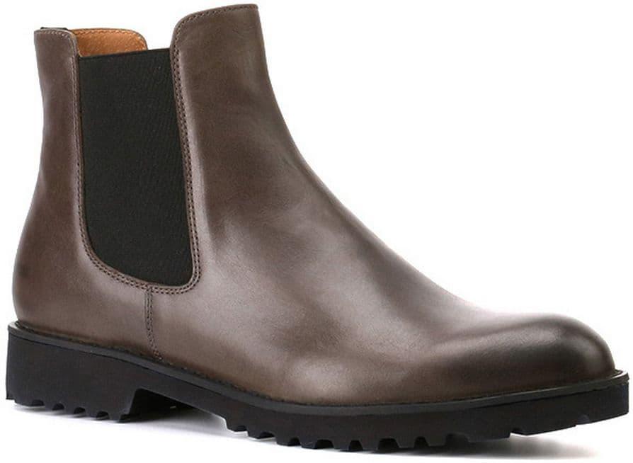 Ботильоны Ralf RingerБотильоны<br>Отличительная особенность ботинок челси - отсутствие застежек (молний или шнурков). Данная модель имеет эластичные вставки по бокам, позволяющие быстро надевать их. Если Вы живете в мегаполисе, где каждая минута на счету, то это, однозначно, Ваш вариант. Рифленая подошва черного цвета отлично контрастирует с насыщенным коричневым цветом данной модели. Эта пара обуви впишется в гардероб каждой модницы, ведь она очень практична и униве...<br><br>Наименование: Ralf Ringer Modern 916202ТКР Осень-Зима 2016-17<br>Цвет: Темно-коричневый<br>Размер RU: 36<br>vendorCode: None<br>Пол: Женский<br>Возраст: Взрослый<br>Сезон: Деми<br>Материал верха: Натуральная кожа<br>Материал подкладки: Натуральная кожа<br>Материал подошвы: ПУ