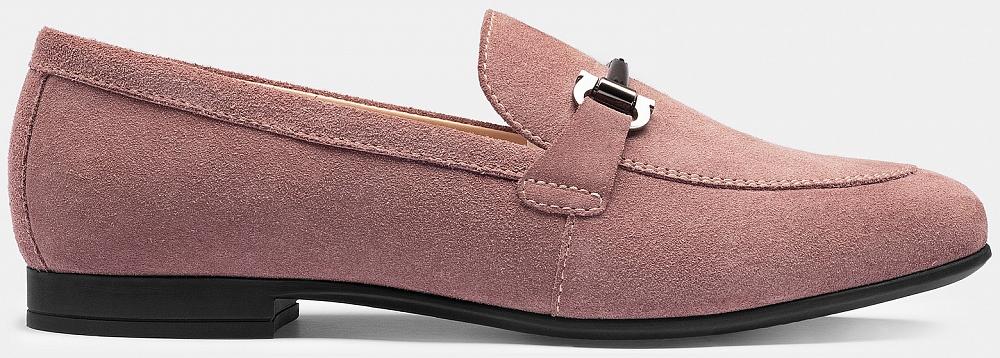 Лоферы Ralf Ringer розового цвета
